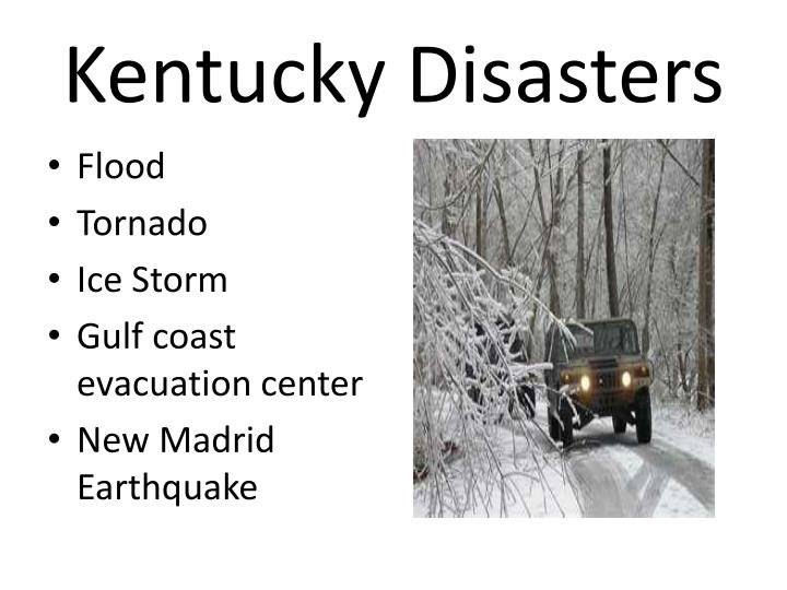 Kentucky Disasters