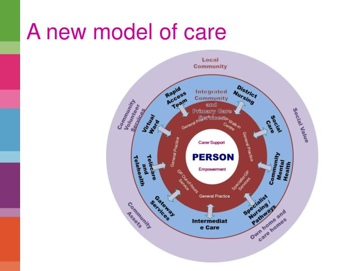 A new model of care