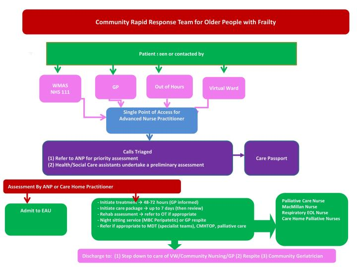 Community Rapid Response Team for Older People with Frailty