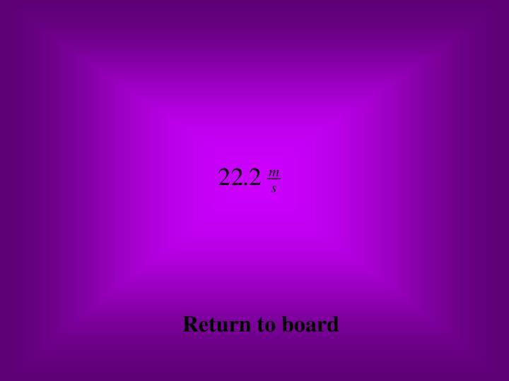 Return to board