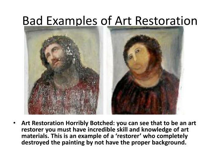 PPT - Career in Art: Art Conservationist/ Restorer