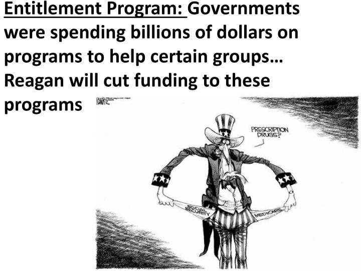 Entitlement Program: