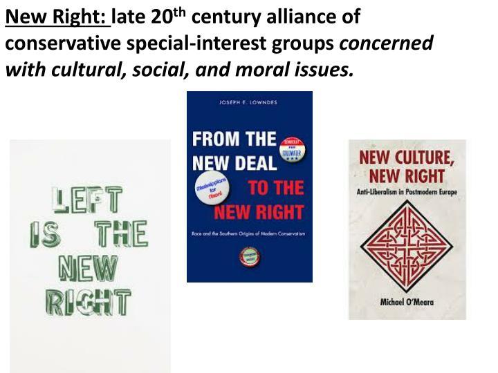 New Right: