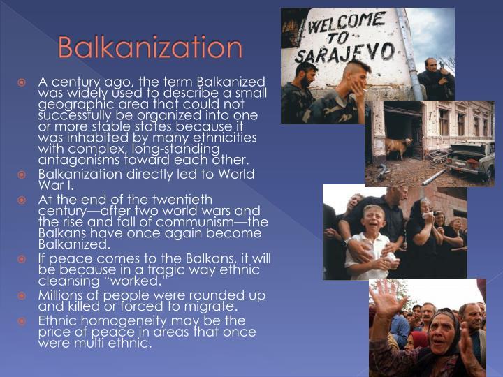 Balkanization