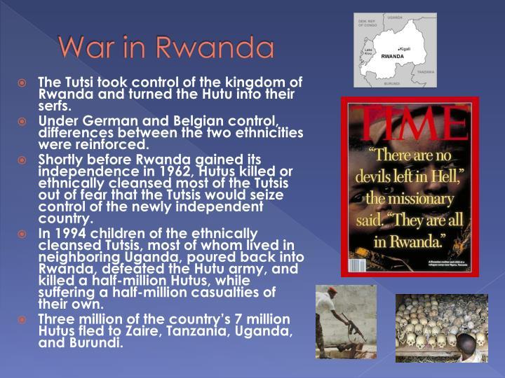 War in Rwanda