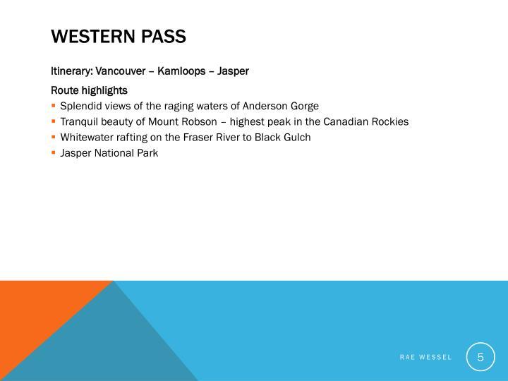 Western Pass