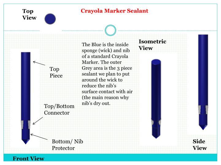 Crayola Marker Sealant