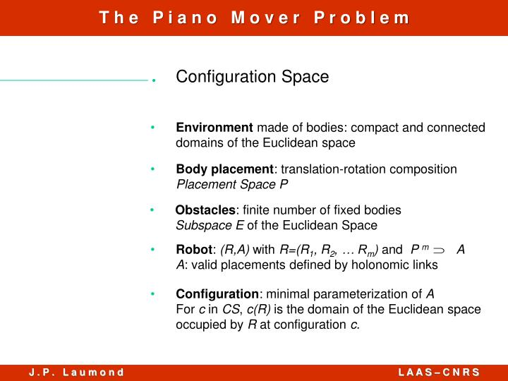 Configuration Space
