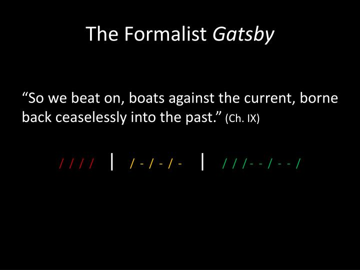 The Formalist