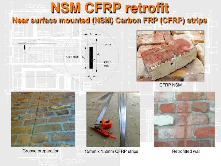 NSM CFRP retrofit