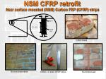nsm cfrp retrofit near surface mounted nsm carbon frp cfrp strips
