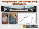 strengthening of urm buildings using ecc shotcrete