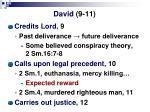 david 9 11