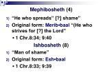 mephibosheth 4