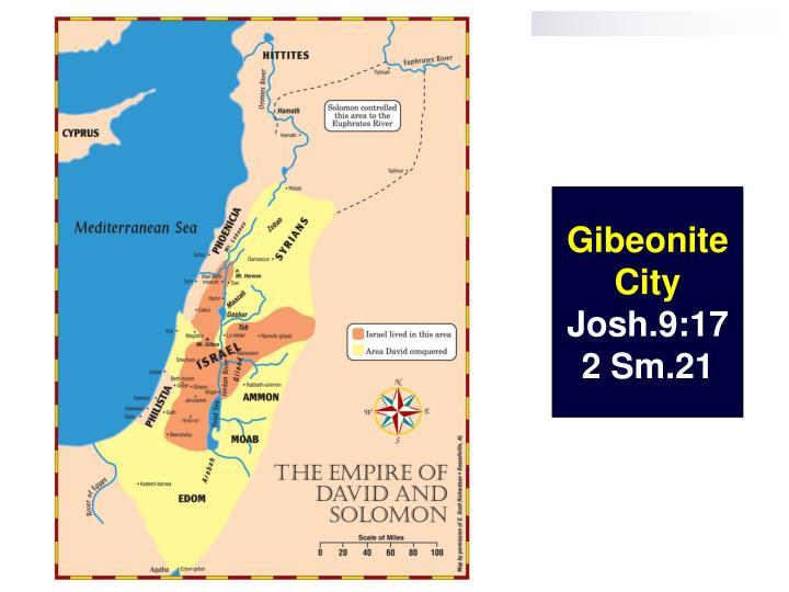 Gibeonite