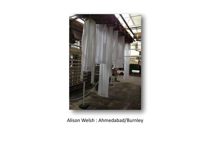 Alison Welsh :