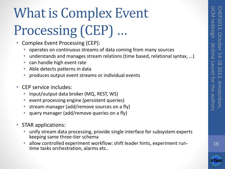 What is Complex Event Processing (CEP) …