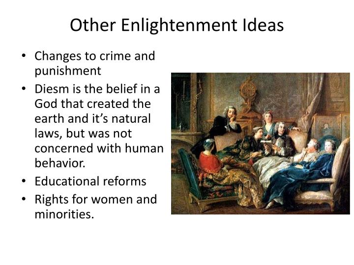 Other Enlightenment Ideas