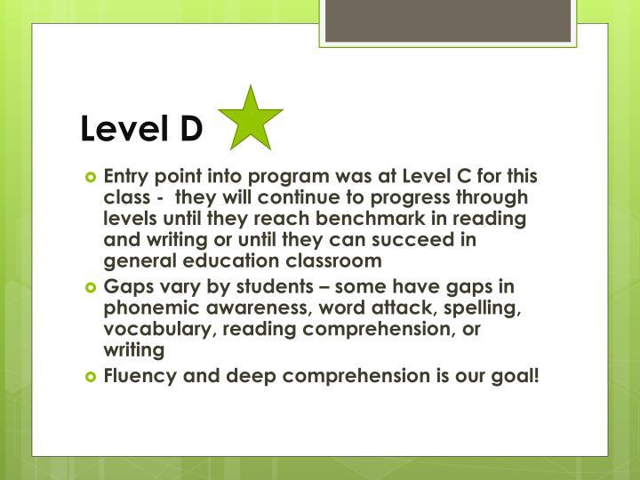 Level D