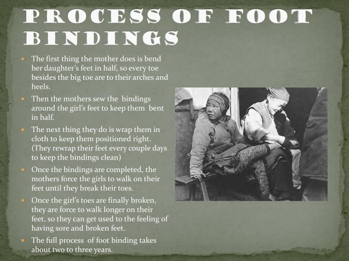 Process of Foot Bindings