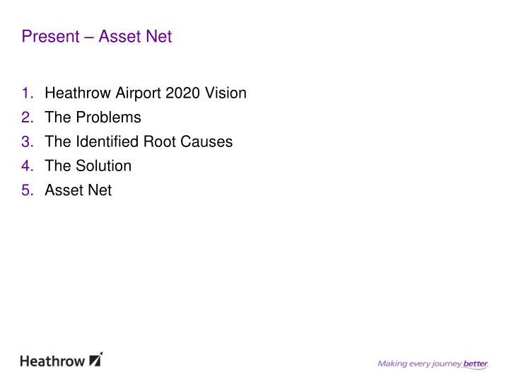 Present – Asset Net