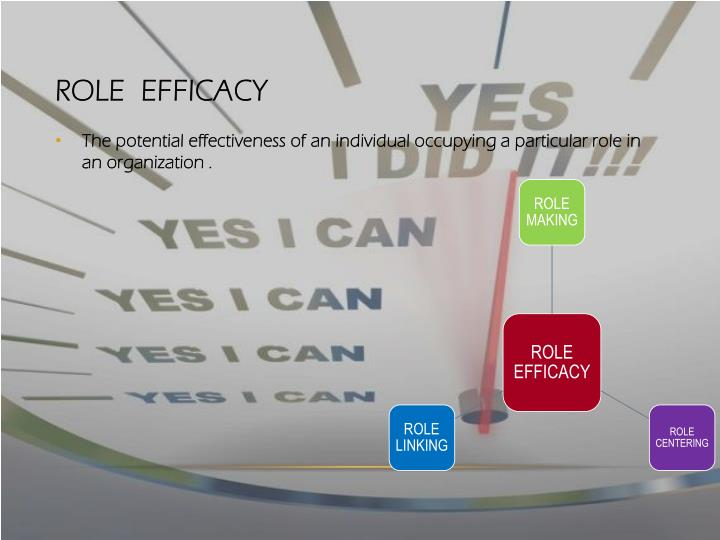Role  Efficacy
