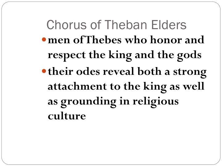 Chorus of Theban Elders