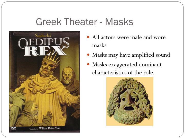 Greek Theater - Masks