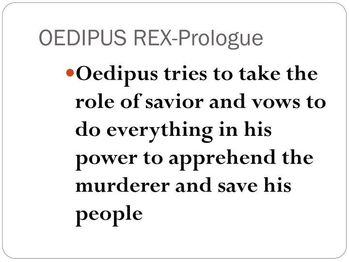 OEDIPUS REX-Prologue