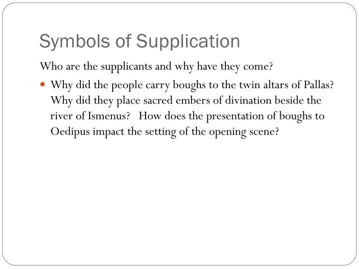Symbols of Supplication