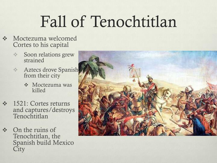 Fall of Tenochtitlan