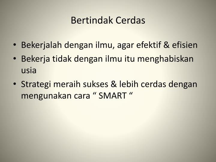 Bertindak Cerdas