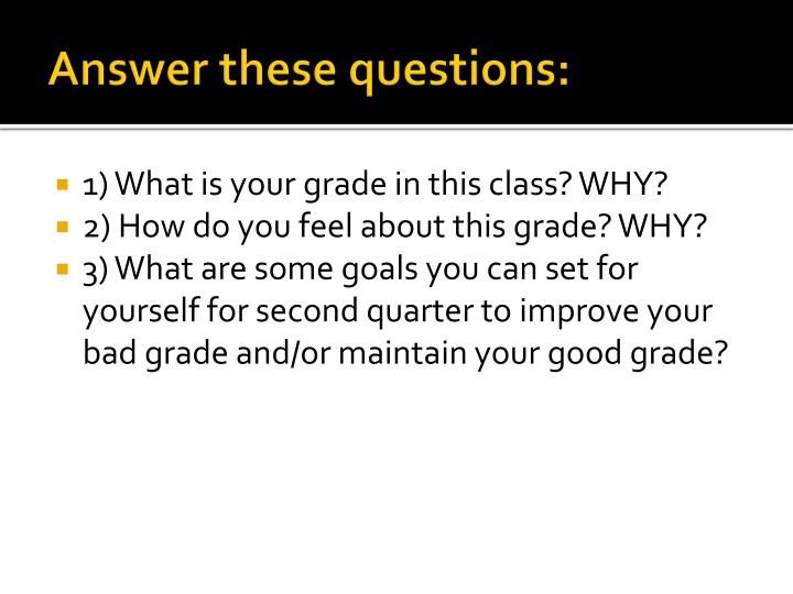 Answer these questions: