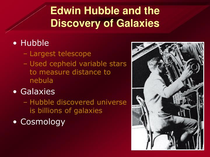 Edwin Hubble and the