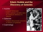 edwin hubble and the discovery of galaxies