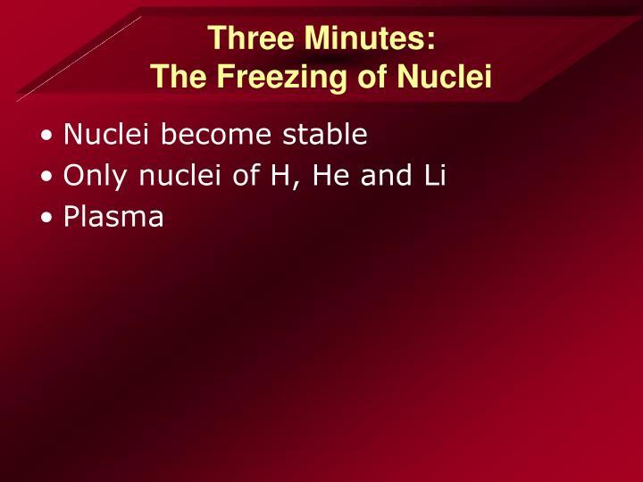 Three Minutes: