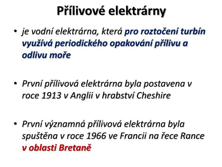 Plivov elektrrny
