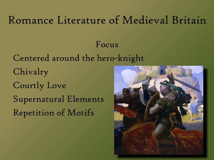 Romance Literature of Medieval Britain