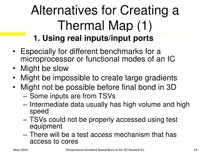 Alternatives for Creating a Thermal Map (1)