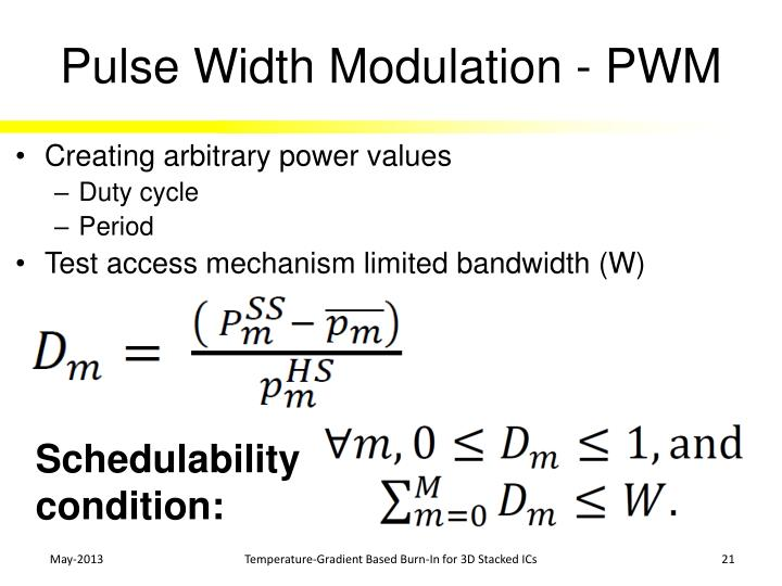 Pulse Width Modulation - PWM