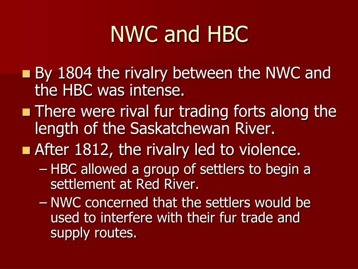 NWC and HBC