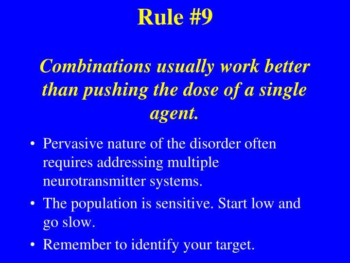 Rule #9