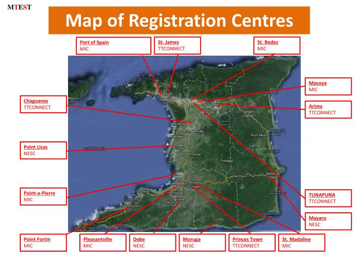 Map of Registration
