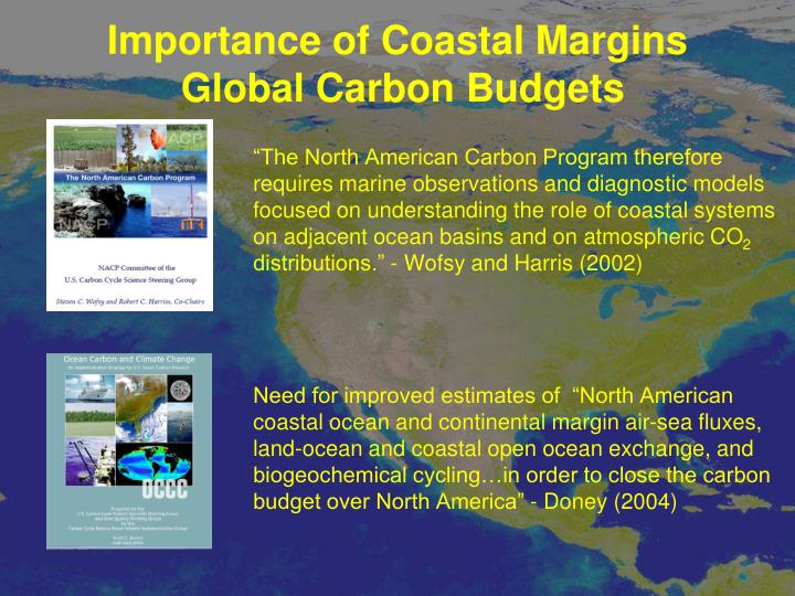 Importance of Coastal Margins