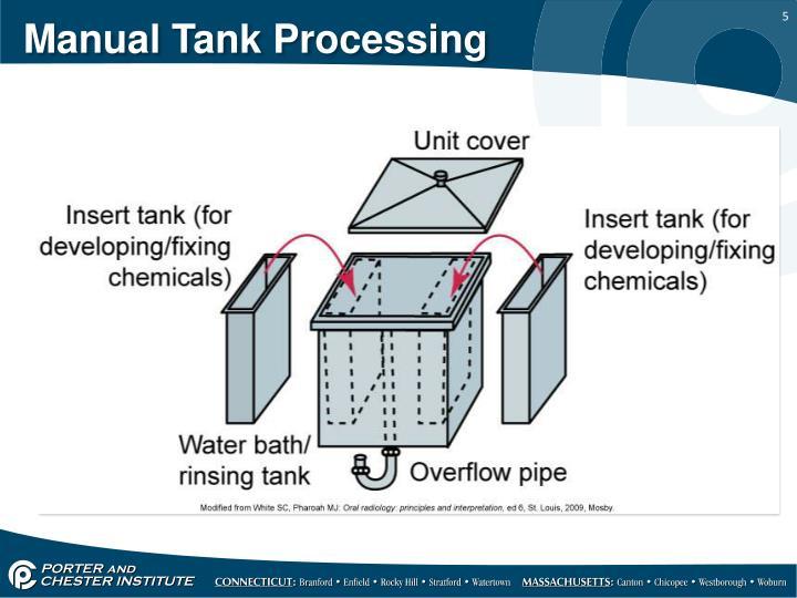 Manual Tank Processing