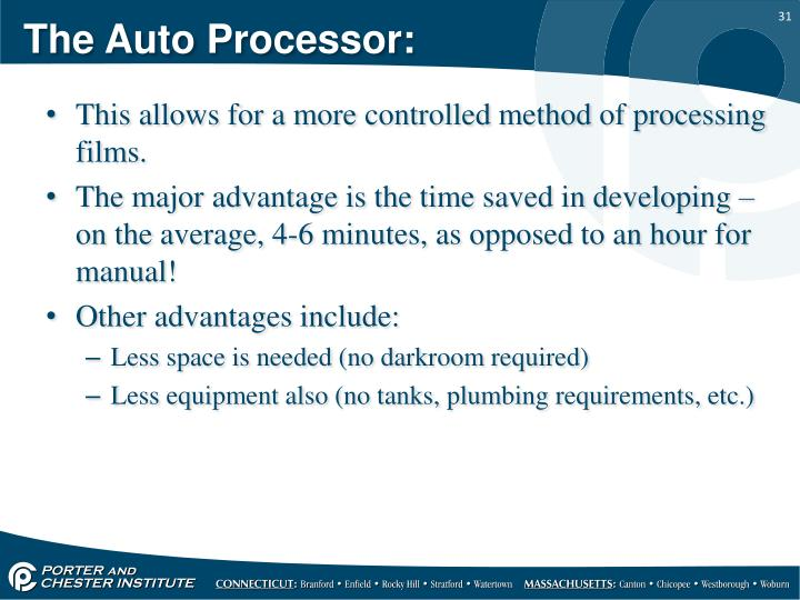 The Auto Processor: