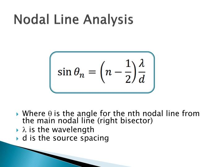 Nodal Line Analysis