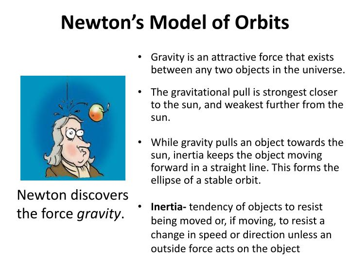 Newton's Model of Orbits