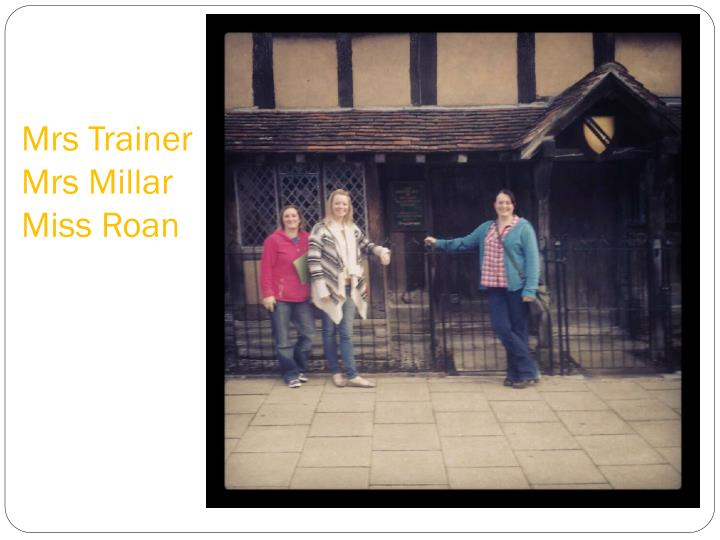 Mrs trainer mrs millar miss roan