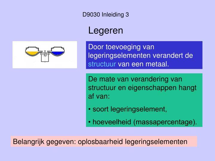 D9030 Inleiding 3